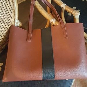 Vince Camuto brown tote bag